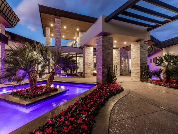 Inside $5,000,000 Sensational Ultra-modern Home in Henderson, Las Vegas