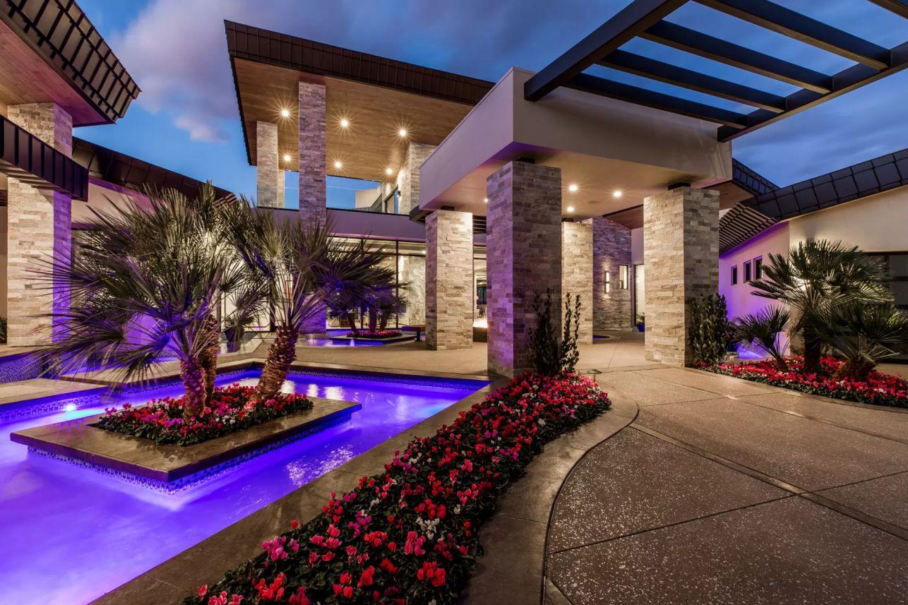 Inside $5,000,000 Sensational Ultra-modern Home in Henderson, Las Vegas