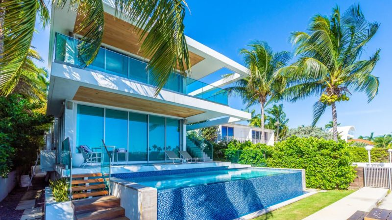 A Trophy Home on Miami Beach's Exclusive Palm Island Offered at $7.9 Million