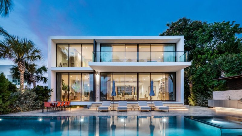 On The Market – Brand New Hibiscus Island Modern House Listed for $16,750,000