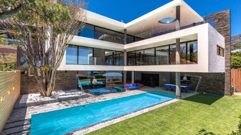 Tour of Exclusive Modern Masterpiece in Camps Bay, South Africa