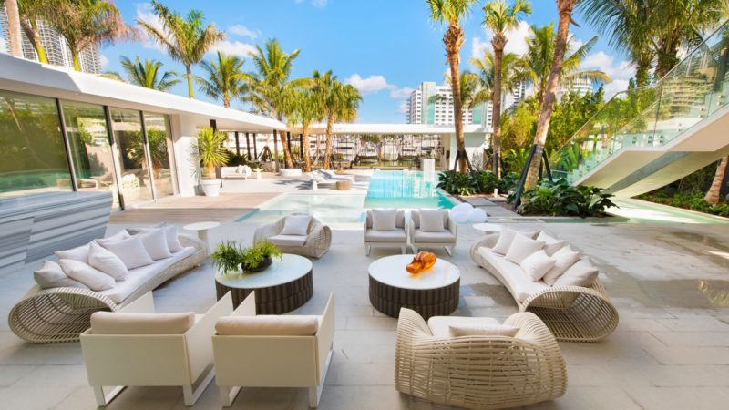 Tour of An Architecturally Distinct Home in Miami Beach