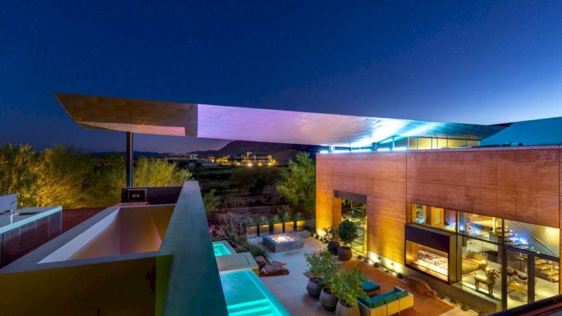 On The Market – $7,750,000 for Las Vegas Modern Home designed by architect Eric Strain