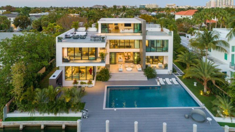 Tour of Gorgeous Harbor Drive Waterfront Estate Offering for $14,850,000