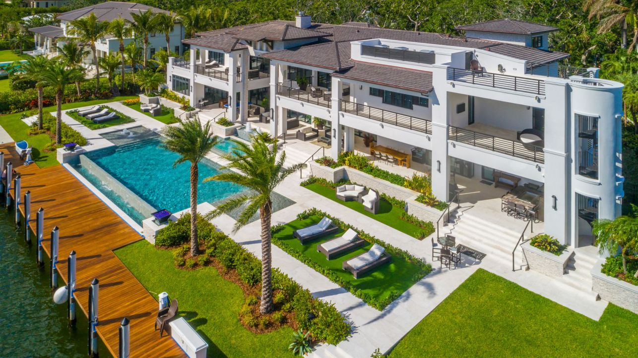 On The Market – 90 Leucadendra Drive in Miami Listed for $29,900,000