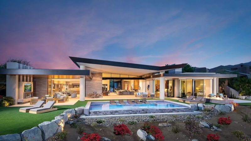 New Listing – $9,700,000 Spectacular Palm Desert Contemporary Home