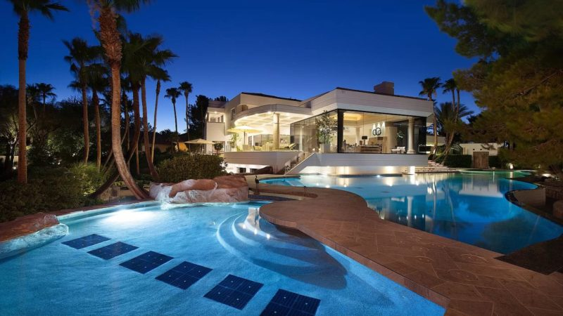 A Tropical Paradise in Spring Valley, Nevada Listed for $18,500,000