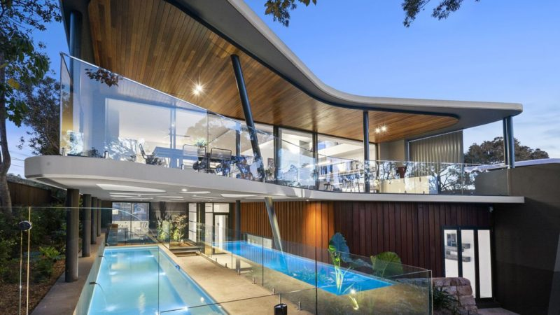 Inspirational Architectural Home in New South Wales by architect Mark Hurcum
