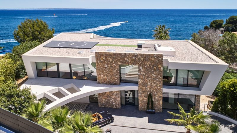 Villa Nikki Del Mar in Mallorca, Spain by More Projects