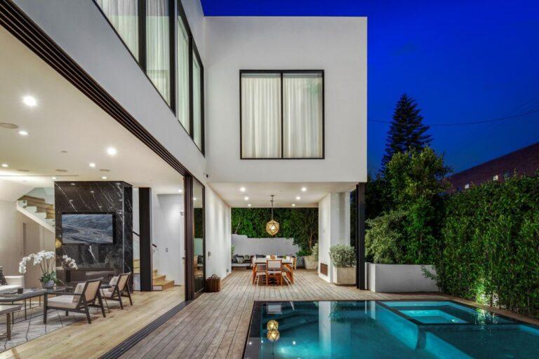 Beverly Grove Contemporary Estate