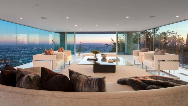 Majestic Renovated Modern Masterpiece located at Blue Jay Way listed for $11,900,000