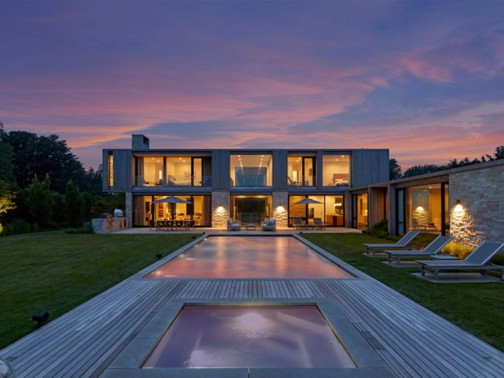 Modern New Construction Estate in Bridgehampton, New York Listed for $13.4 million