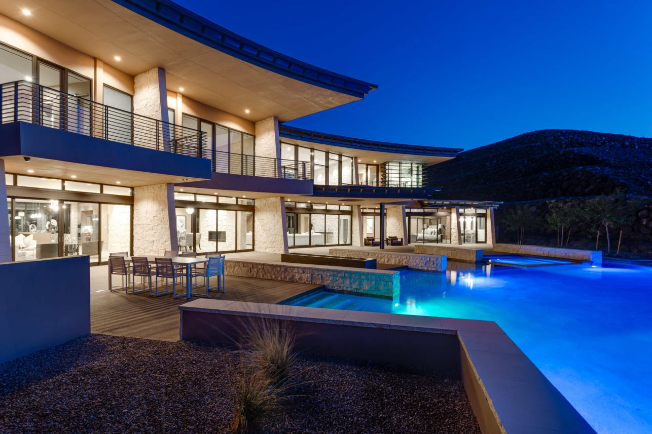 An Unprecedented Level of Design in Las Vegas Listed for $6,900,000
