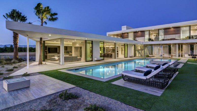 Tour of Architectural Dream Home in La Quinta, CA