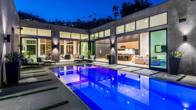 1730 Rising Glen Rd in Los Angeles – Luxury Tour