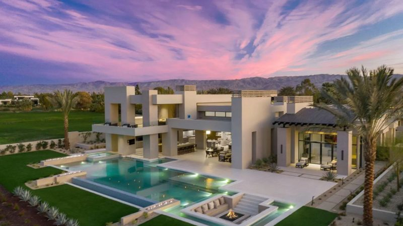 New Desert Contemporary Home in La Quinta offered at $10,750,000
