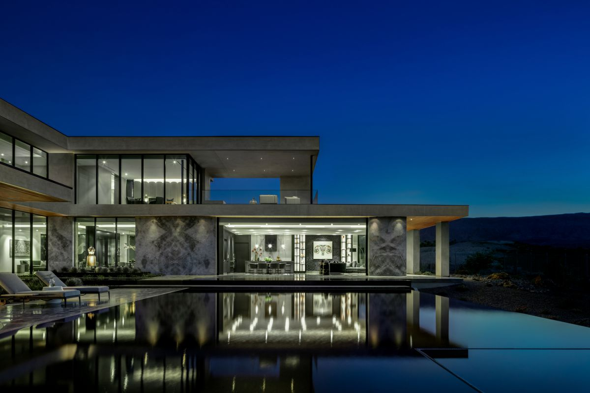 Cayambe House in Las Vegas designed by Punch Architecture