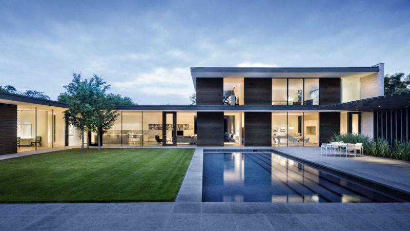 Preston Hollow Residence in Dallas by Bodron+Fruit