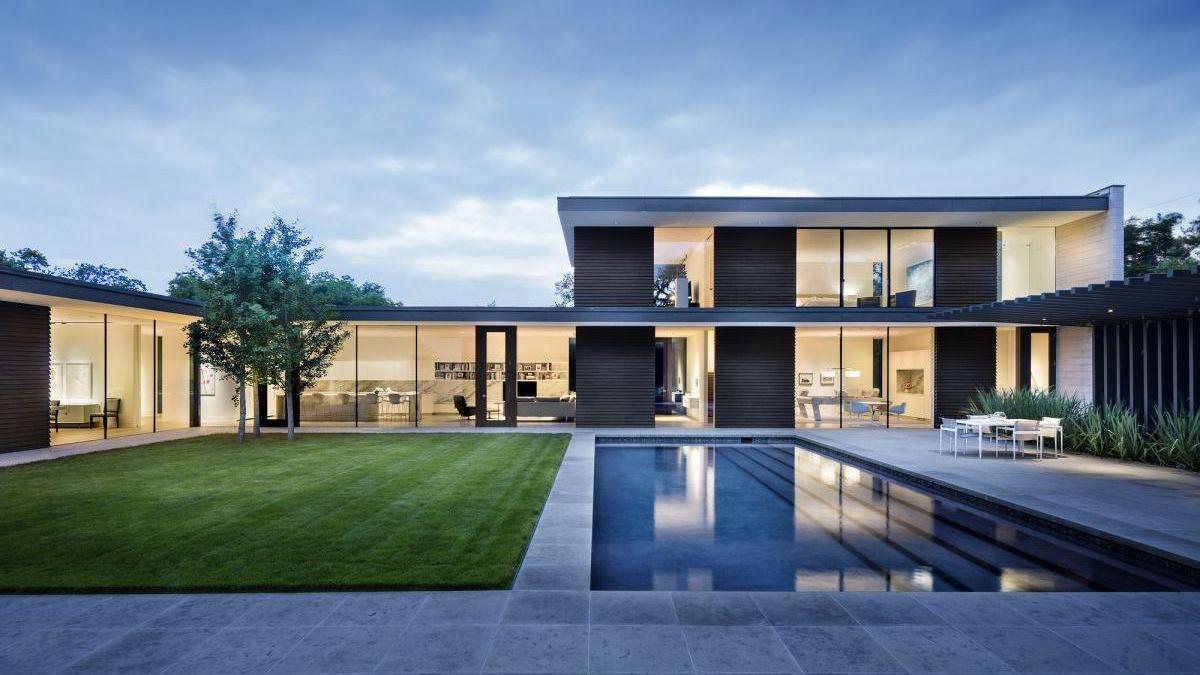Preston Hollow Residence in Dallas by Bodron+Fruit