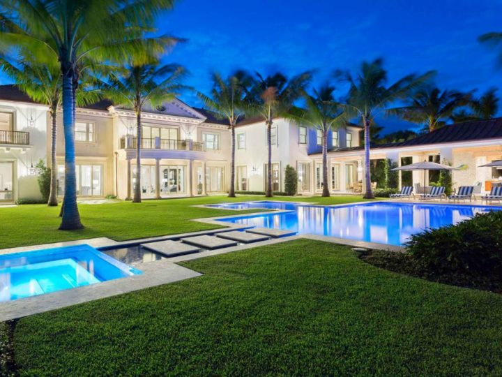Exquisite Palm Beach Lakefront Mansion by Affiniti Architects