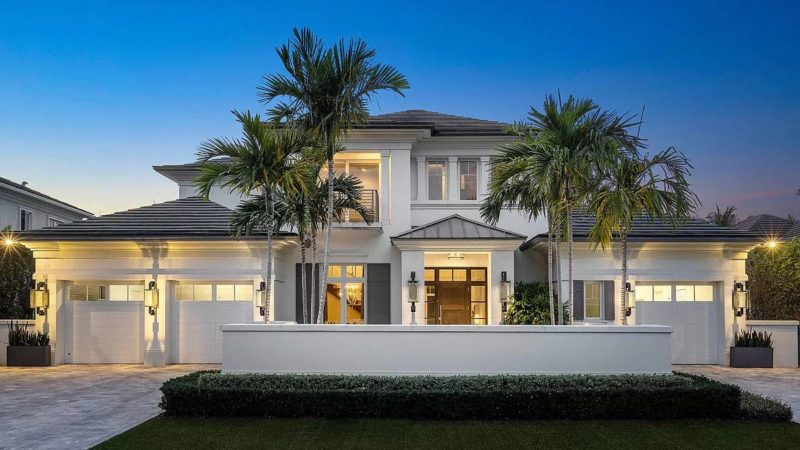 2295 East Silver Palm Road Modern Home on Market for $5 million