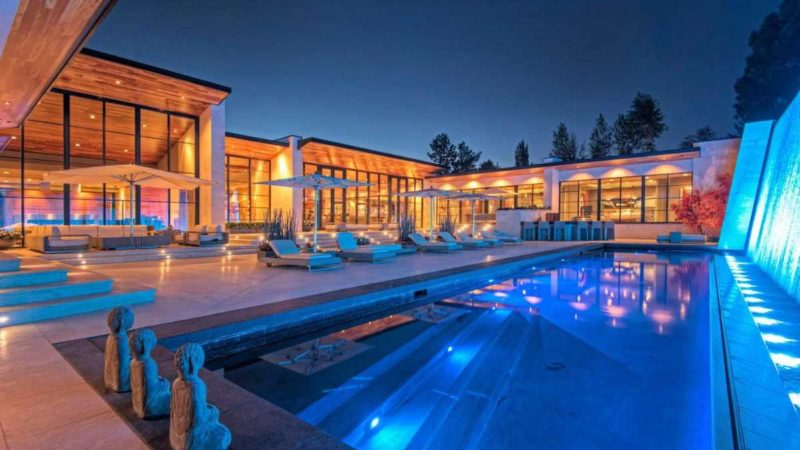 Tour of Spectacular Contemporary Mansion in Salt Lake City, Utah