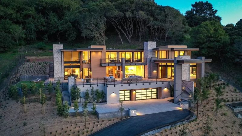 Unsurpassed Modern Masterpiece in Belvedere Tiburon listed for $8.3 Million