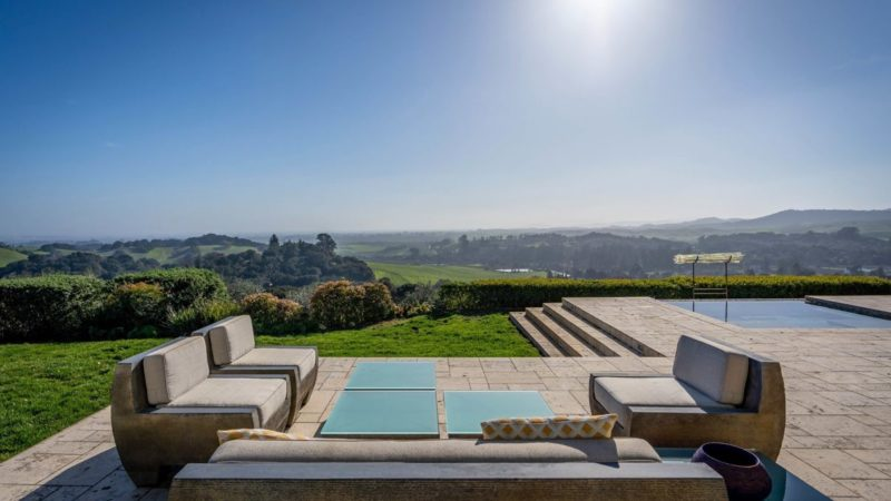 34 Acres Napa Estate with panoramic views listed for $9.5 Million