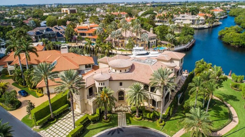 Custom Sanctuary Estate resides on a deepwater offered at $8 Million