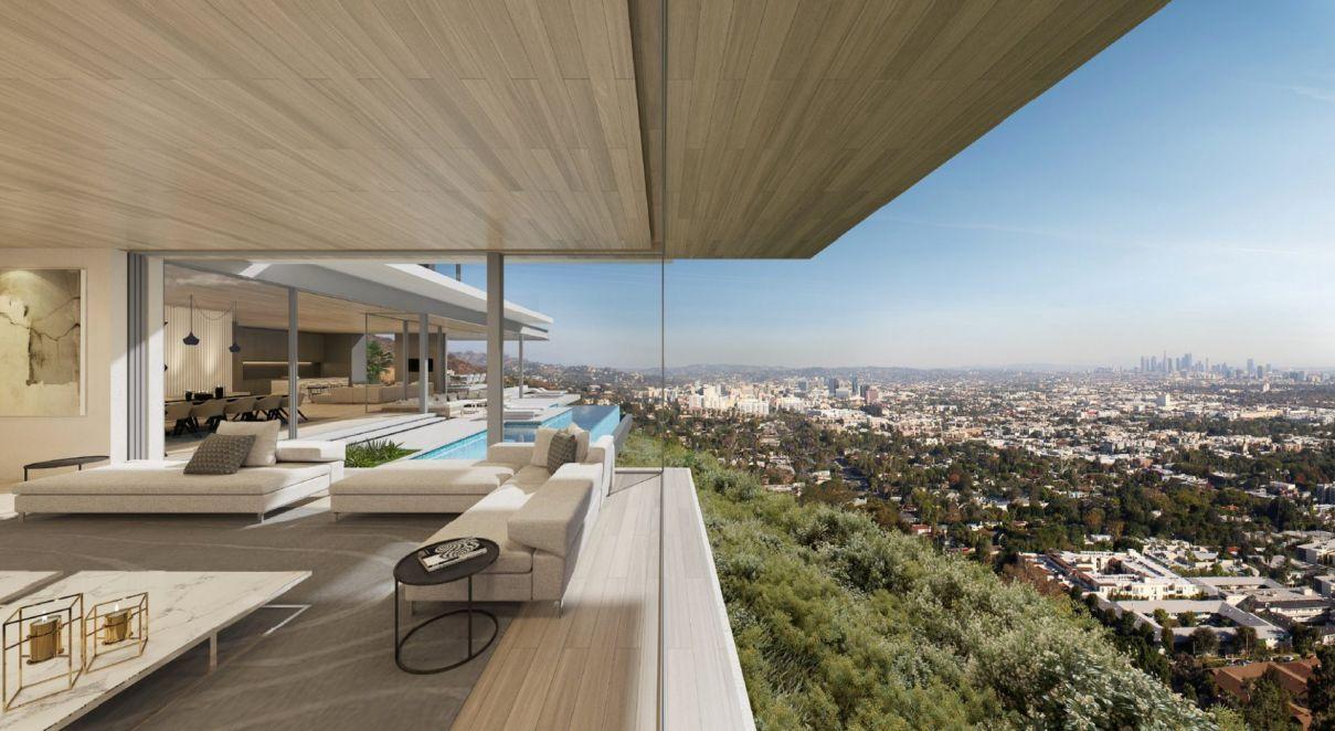 8201 Bellgave Place Modern Estate Conceptual Design by SAOTA