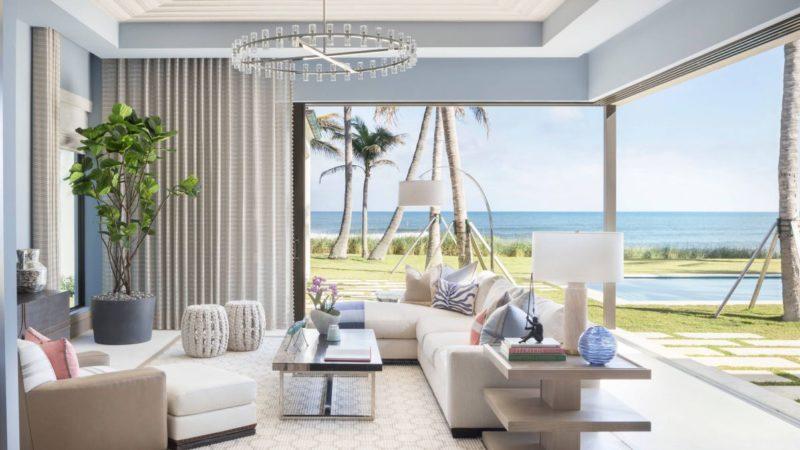 Contemporary Elegance in Ocean Ridge, Florida by Marc-Michaels Interior Design