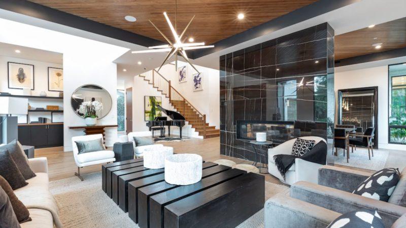 Encino Contemporary Interior Design by Meridith Baer Home