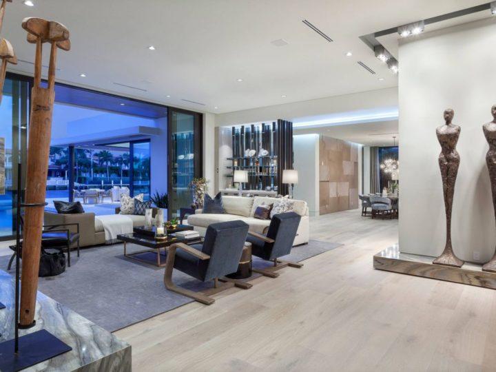 Gold Coast Mid Century Modern Interior Design by Marc-Michaels Interior Design