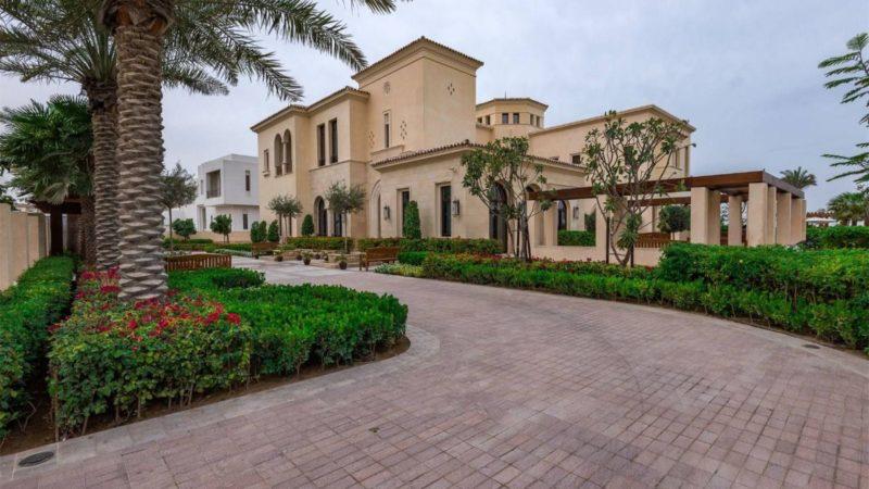 Mediterranean Style Mansion in Dubai Hills Grove, UAE