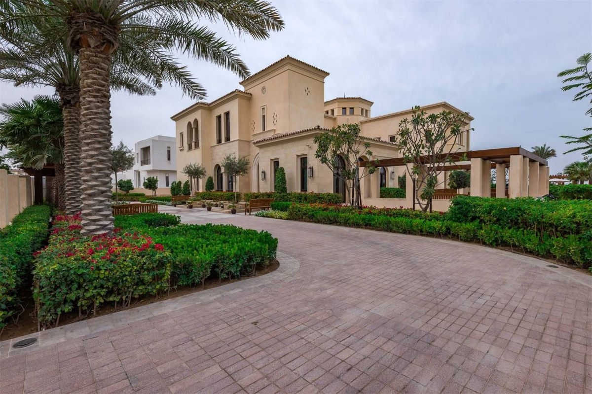 Mediterranean Style Mansion in Dubai Hills Grove, UAE