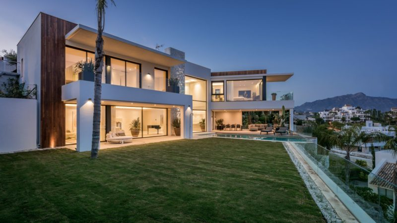Modern luxury villa in Benahavis, Spain