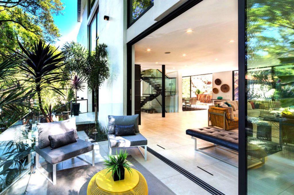 Modern house in Los Angeles