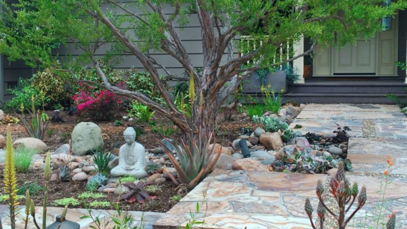 Very Zen Landscape in Los Angeles by Ketti Kupper Conscious Life Design