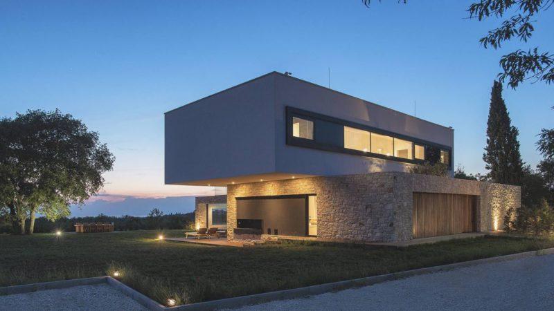 Villa U in Baderna, Croatia by Studio Metrocubo