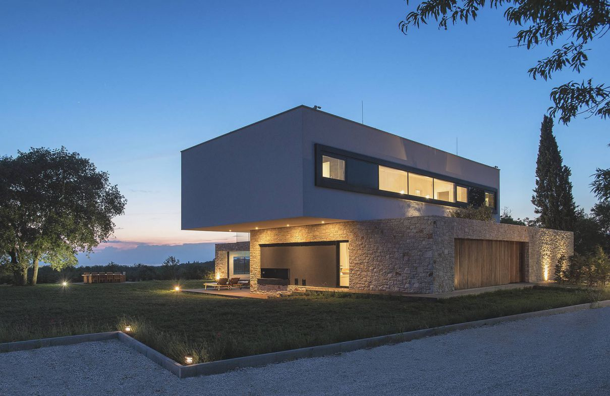 Villa U in Croatia