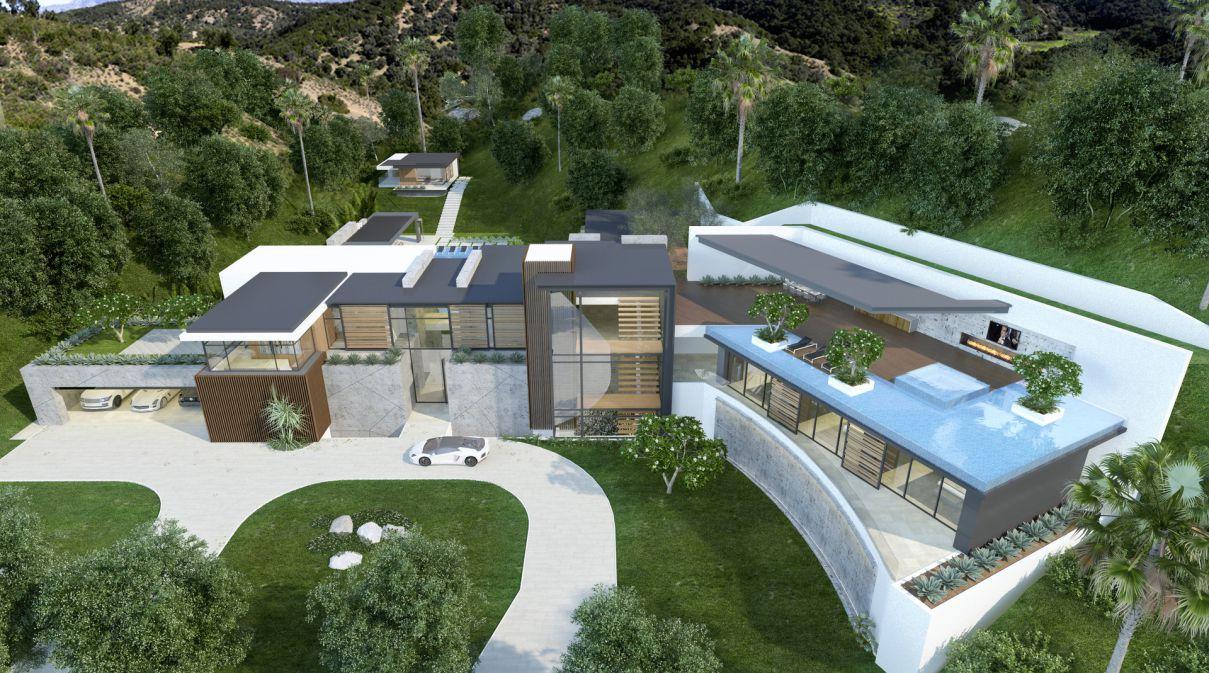 Brentwood Modern Masterpiece Design Concept by CLR Design Group