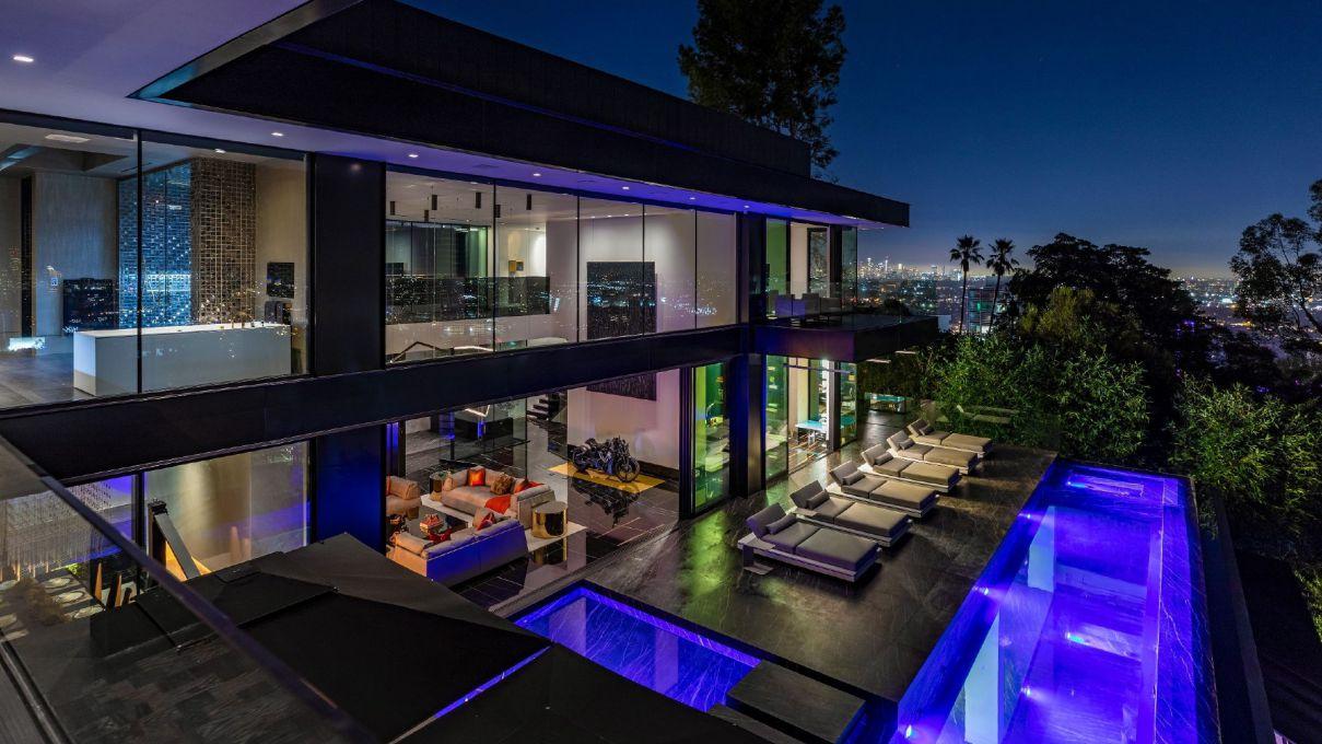 Sunset Strip Modern Masterpiece