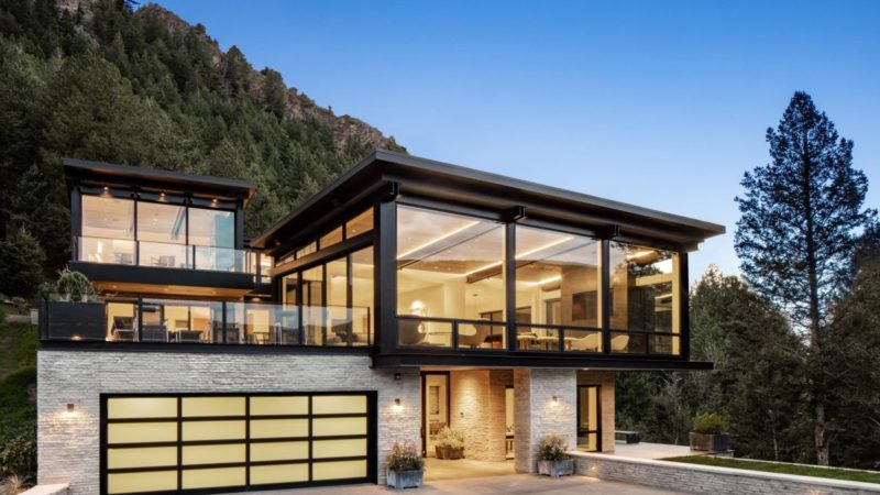 Extraordinary Little Cloud Modern Masterpiece in Aspen Listed for $27.5 Million