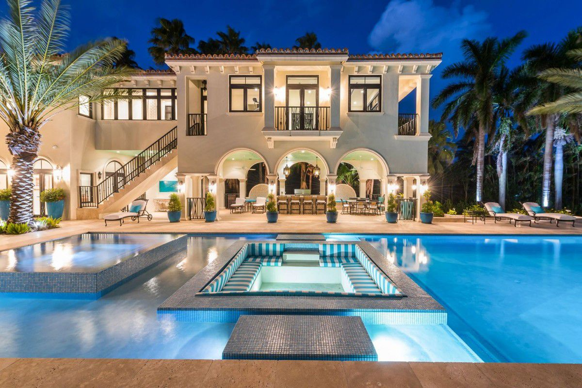 Tour Indian Creek Island Mansion in Miami's Most Exclusive Zip Code