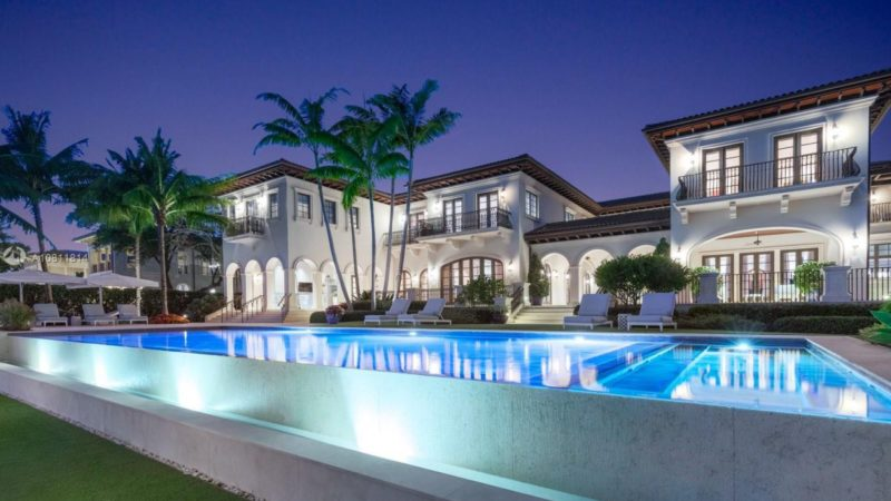 Luxurious Palladian Waterfront Villa in Coral Gables listed for $21.9 Million