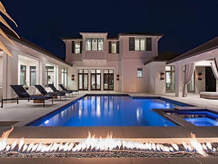 Spectacular Naples Coastal Contemporary offered at $5.5 Million