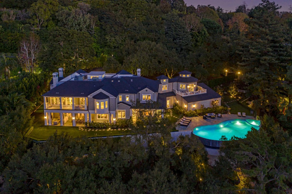 $16.9 Million The Oakmont Estate in Stunning Brentwood Hills