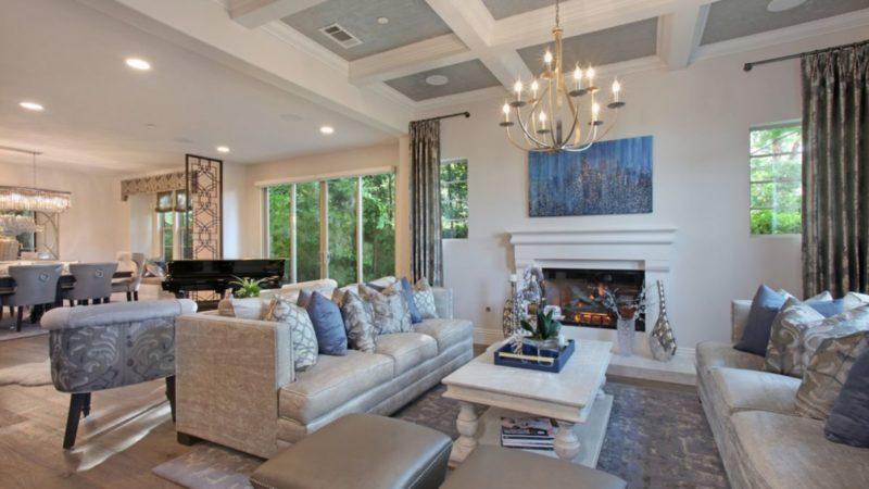 Irvine Contemporary Interior Design by 27 Diamonds Interior Design