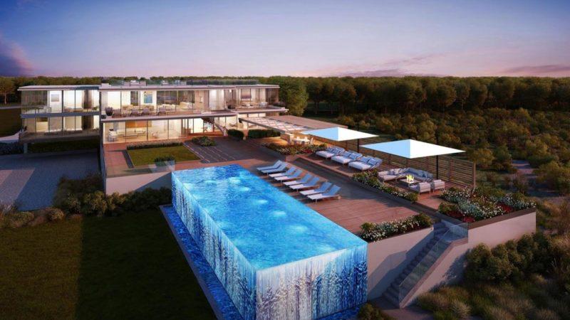 Ultra-modern Bridgehampton Estate Concept by Andre Kikoski Architect