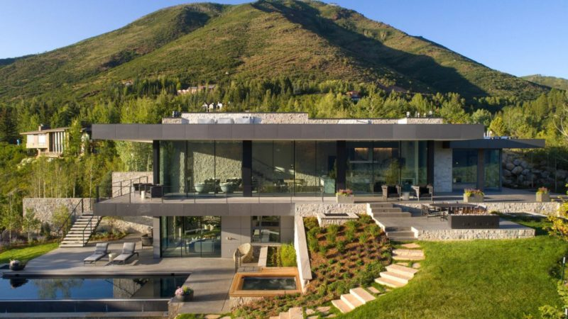 Tour of Extraordinary Red Mountain Ranch Estate in Aspen